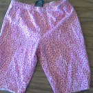 Faded Glory girl's pink leopard short size 7-8