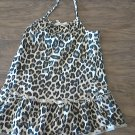 Faded Glory baby girl's leopard print-halter dress size 24 mos