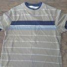 Arizona boy's beige short sleeve shirt size Medium
