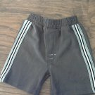 Parisian Kids toddler boy's dark gray elastic waist short 2T
