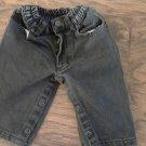Greatland baby boy's black jean pant 6 mos