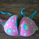 Girl's pink frog hpy bra size 36B