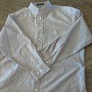 Stafford man's purple long sleeve shirt size 32/33
