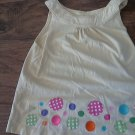 Girl's yellow sleeveless top tank size 4T