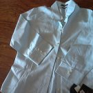 New Liz Claiborne man's light blue long sleeve shirt size 12