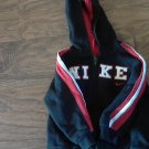 Nike baby boy's navy hooded jacket size 18 mos