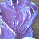 Ralph Lauren Sport woman's purple long sleeve shirt size SP slim fit