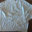Woman's vanilla mock turtleneck sweater size PM