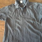 Old Navy man's blue short sleeve shirt size Large