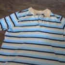 Duck Head man's yellow, blue striped shirt size 1X