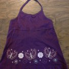 Faded Glory girl's purple strap tank top size 7