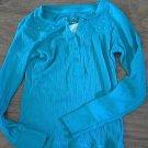 Arizona girl's blue long sleeve shirt size 7/8