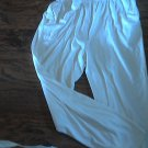 Woman's off white elastic waist pant size S/XL
