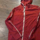Cato woman's red hooded jacket size Large