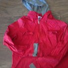 Danskin woman/jr girl red long sleeve jacket size 12/14