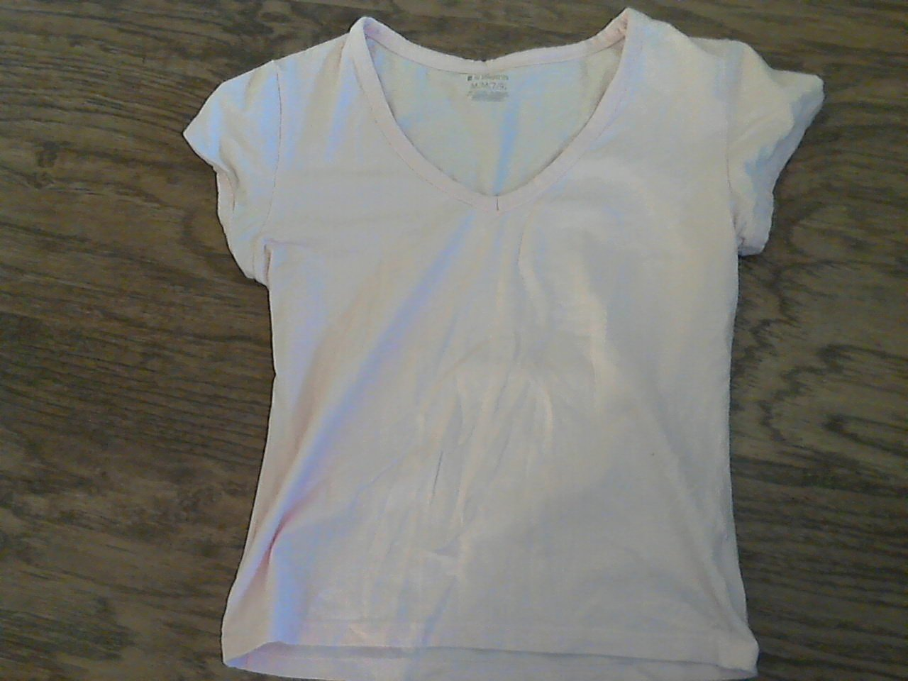 No Boundaries girl's pink short sleeve top size M (7/9)
