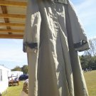 Woman's tan raincoat size 15/16