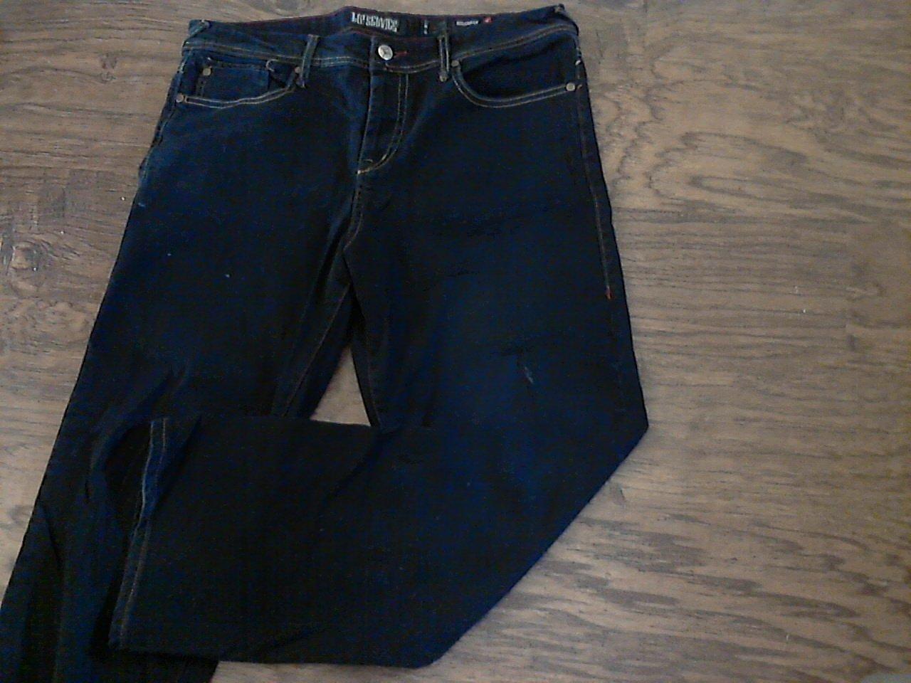 Rockaway man's black denim pant size 34/30