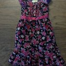 Girl's black short sleeve dress size 4T