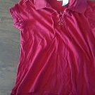 No Boundaries girl's red short sleeve top size XXL (18)