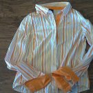 Southpole girl's orange stripe long sleeve shirt size XXL