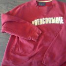 Man's red long sleeve sweater size XL