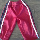 Athletic Works baby boy's red elastic waist pant size 18 mos
