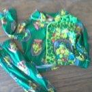 Nickelodeon baby boy's green 2 piece Ninja Turtles sleepwear size 12 mos