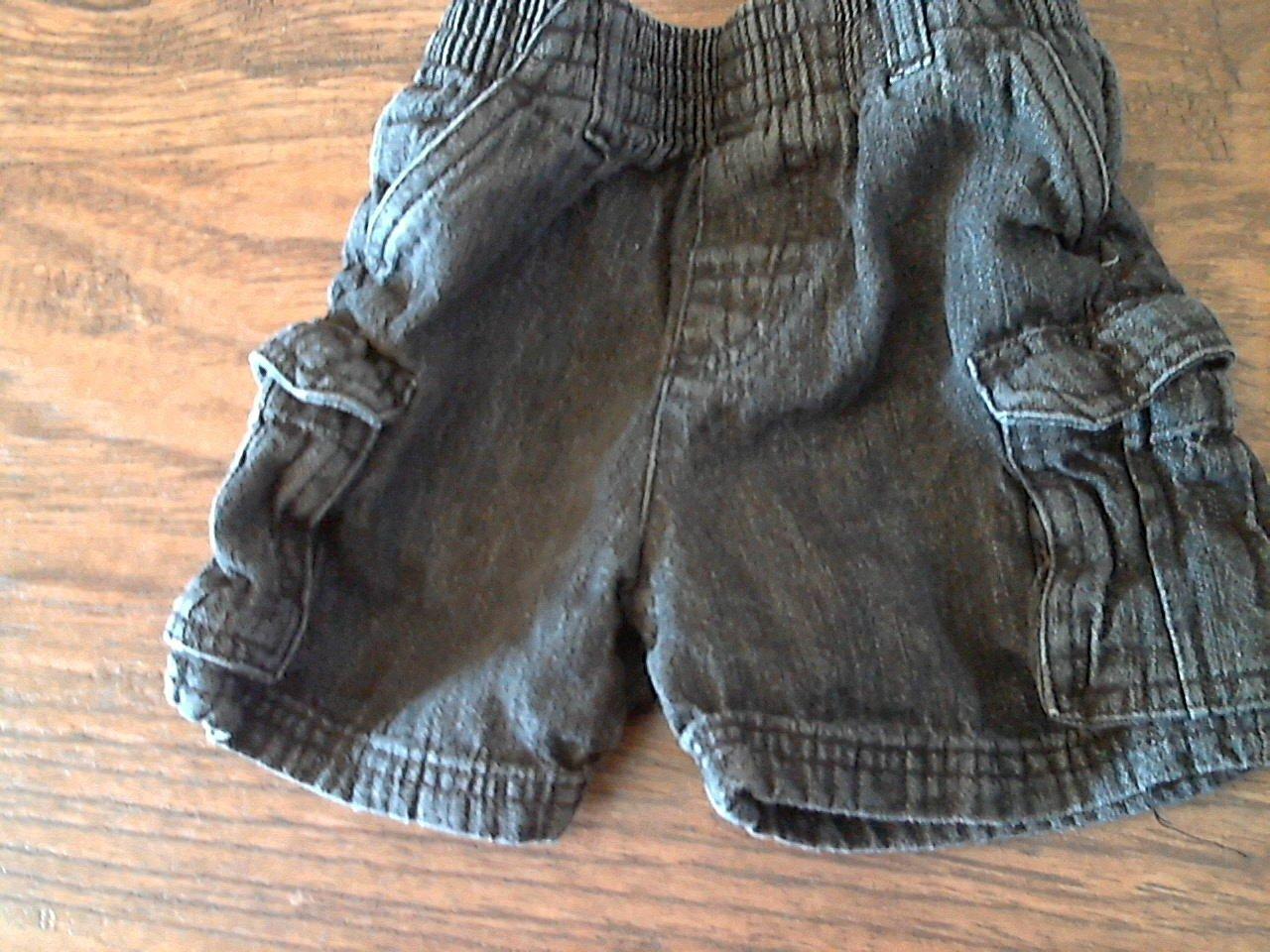 Garanimals baby boy's blue elastic waist short size 18 mos