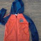 Athletic Works toddler boy's orange long sleeve jacket size 4T