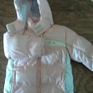 Kid Connection girl's pink winter hooded coat size 4T