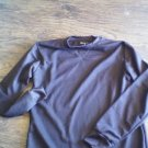Nevada Man's Chocolate long sleeve sleepwear shirt size Medium