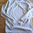 Nevada Man's Gray long sleeve sleepwear shirt size Medium
