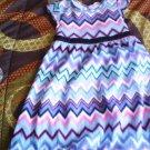 Healthtex toddler girl's geo multicolor summer dress size 4t