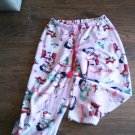 Betty Boop junior girl's pink sleepwear pant size 7-9