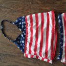 OP toddler girl's 2 piece American swimsuit size 4t-5t