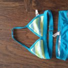 OP toddler girl's blue 2 piece swimsuit size 4t-5t