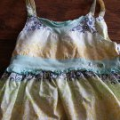 6x girls yellow string dress