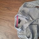 Jordache toddler girl's gray and white stripe long sleeve suit size 4t-5t
