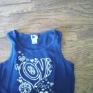 XL (14/16) Girls navy tank