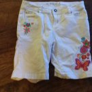 Total Girl white short size 12 1/2 plus