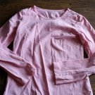 J.Khaki girl's pink long sleeve shirt size medium