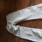 Hanes girls gray soft sweat elastic waist pant size 7/8