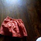 Wonder Kids girls red elastic waist short size 4t
