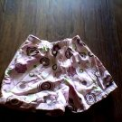 4T girl's pink elastic waist short
