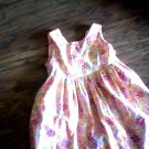 Bonnie Jean girl's orange and yellow diasies sleeveless dress size 4T