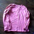 J.Khali girl's pink long sleeve shirt size Large