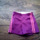 Faded Glory toddler girl's purple bandwrist running short size 4t-5t