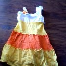 Youngland girls white, orange , yellow sleeveless dress size 5t