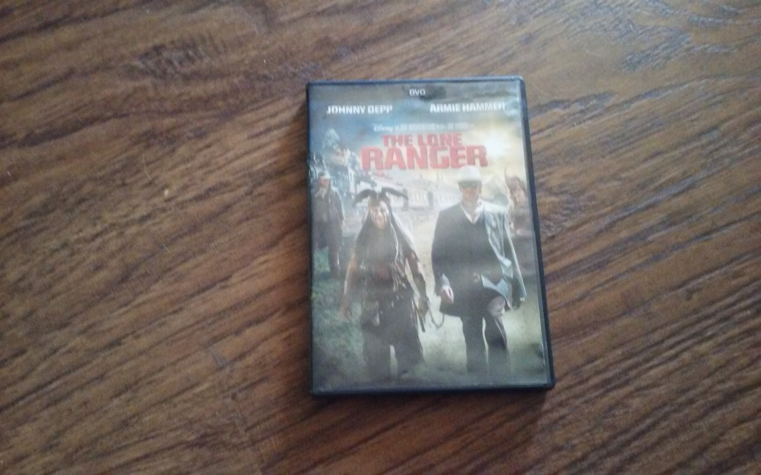 The Lone Ranger DVD 2013